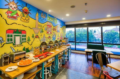 雅加达帕萨巴鲁红色星球酒店 - 雅加达 - 自助餐