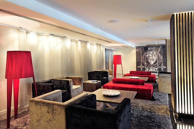 巴塞罗那格鲁姆斯酒店 - 巴塞罗那 - 休息厅