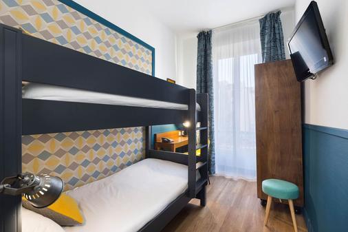 快乐文化拿普酒店 - 尼斯 - 睡房