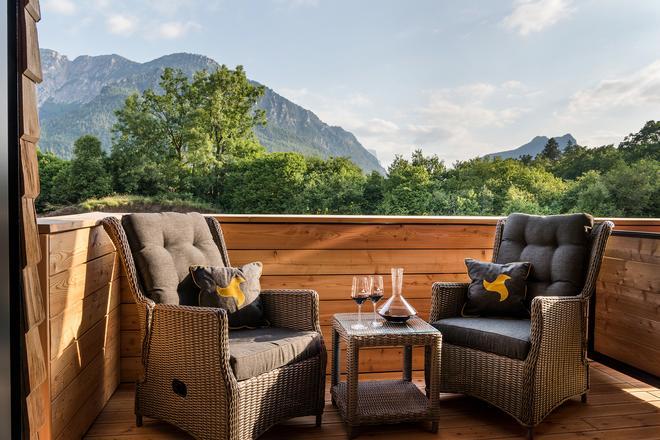 克劳斯特霍夫酒店 - 高山度假和 SPA - 巴特莱辛哈尔 - 阳台