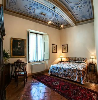 锡耶纳圣卡塔林纳酒店 - 锡耶纳 - 睡房