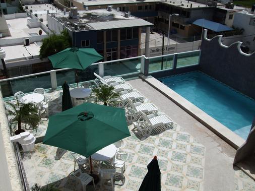 夏米酒店 - 韦拉克鲁斯 - 游泳池
