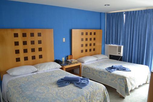 夏米酒店 - 韦拉克鲁斯 - 睡房