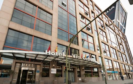 卡斯提亚大道酒店 - 马德里 - 建筑