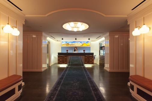 东乡村设计酒店 - 纽约 - 大厅