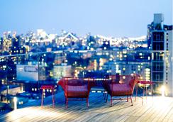 东乡村设计酒店 - 纽约 - 露天屋顶