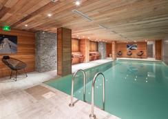 阿尔伯西酒店 - Megève - 游泳池