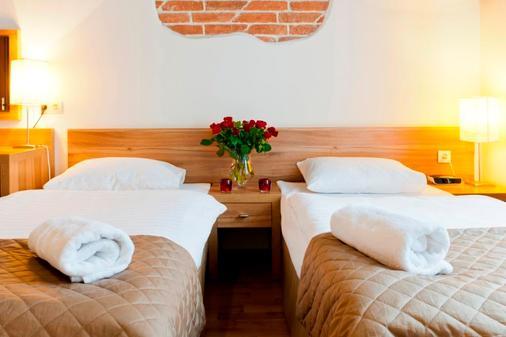 帕尔加明公寓酒店 - 克拉科夫 - 睡房
