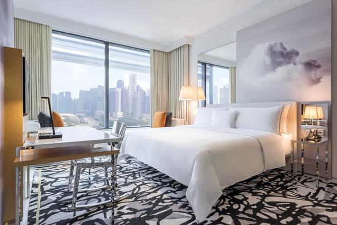 新加坡风华南岸酒店 - 新加坡 - 睡房