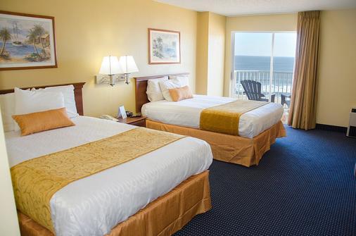 水晶海滩酒店 - 大洋城 - 睡房