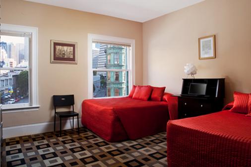 北海滩酒店 - 旧金山 - 睡房