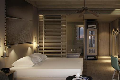 萨蒂亚罗塔娜别墅和度假村 - 阿布扎比 - 睡房