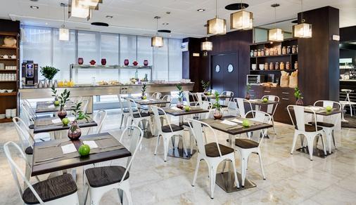 珀蒂宫马德里机场高科技酒店 - 马德里 - 餐厅