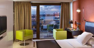 克里斯蒂娜拉斯帕尔马斯酒店 - 大加那利岛拉斯帕尔马斯 - 睡房