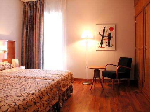 埃斯特雷马杜拉酒店 - 卡塞雷斯 - 睡房