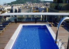 巴塞罗那爵士酒店 - 巴塞罗那 - 游泳池