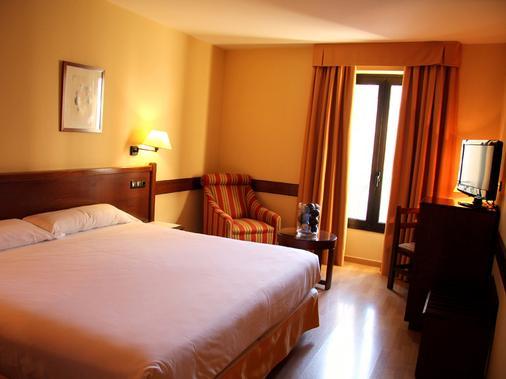东方酒店 - 萨拉戈萨 - 睡房