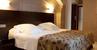 平托埃尔格列科塞尔科特尔酒店 - 托莱多 - 睡房