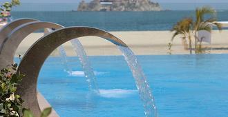 塔玛卡海滩度假村酒店 - 圣玛尔塔 - 游泳池
