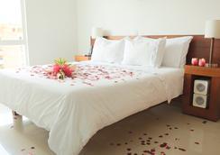 摩根娜波夫拉多套房酒店 - 麦德林 - 睡房