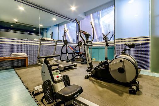 塞尔科蒂尔荷鲁斯萨拉曼卡酒店 - 萨拉曼卡 - 健身房