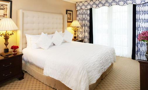 比佛利山区广场温泉酒店 - 洛杉矶 - 睡房
