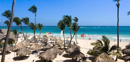 热带公主海滩Spa度假酒店 - 蓬塔卡纳 - 海滩