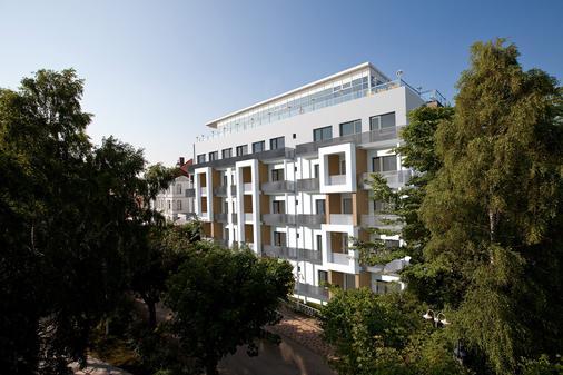 阿尔贝克海滩酒店 - 塞巴特黑灵斯多夫 - 建筑