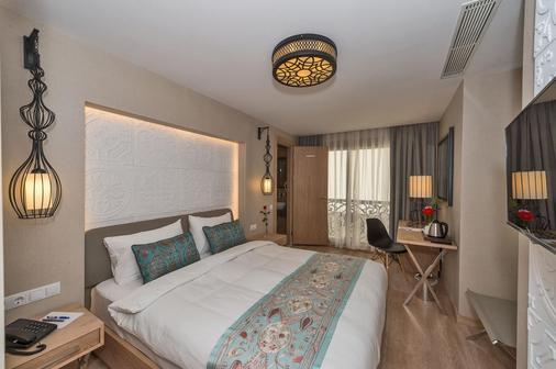 艾巴酒店 - 伊斯坦布尔 - 睡房