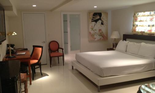 哈里森迈阿密海滩酒店 - 迈阿密海滩 - 睡房