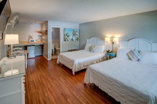 马坦萨斯汽车旅馆 - 迈尔斯堡海滩 - 睡房