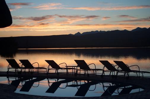 巴福士野生动物观光酒店 - 奥茨胡恩 - 游泳池