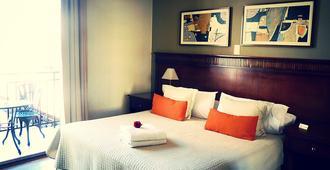 赖诺马德普拉塔精品酒店 - 布宜诺斯艾利斯 - 睡房