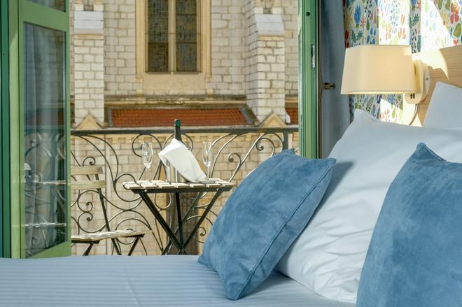 尼斯中央酒店 - 尼斯 - 阳台