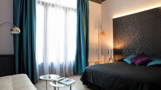 乌玛巴塞罗那住宿加早餐精品酒店 - 巴塞罗那 - 睡房