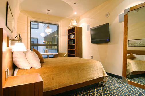 波士顿港岸旅店 - 波士顿 - 睡房