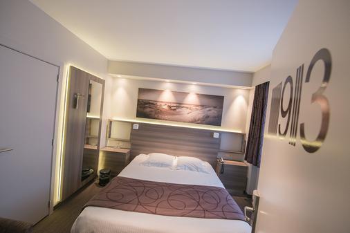 伯灵顿C-酒店 - 奥斯坦德 - 睡房