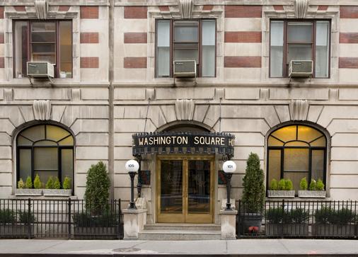 华盛顿广场酒店 - 纽约 - 建筑