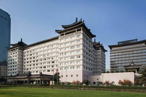 西安君乐城堡酒店(原长安城堡大酒店) - 西安 - 建筑