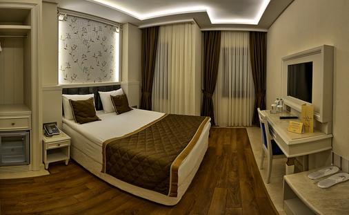 伊斯坦布尔萨米尔酒店 - 伊斯坦布尔 - 睡房
