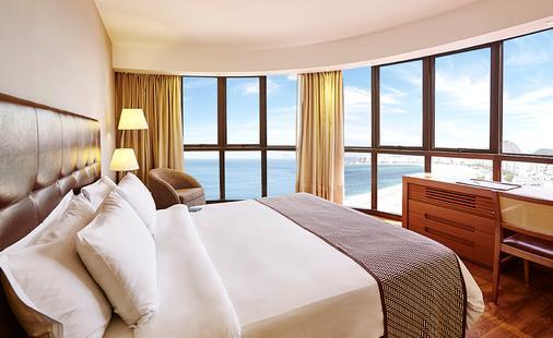 里约热内卢波尔图湾国际酒店 - 里约热内卢 - 睡房