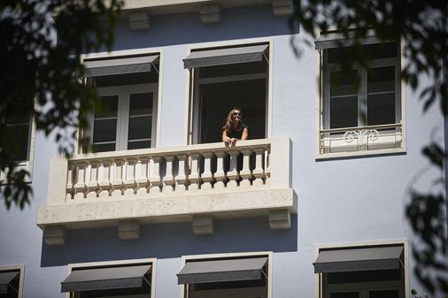 马尔克斯波尔图湾度假酒店 - 里斯本 - 阳台