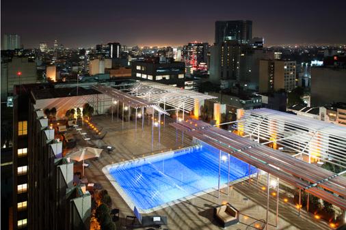 格拉瑞亚瑞福玛广场酒店 - 墨西哥城 - 游泳池