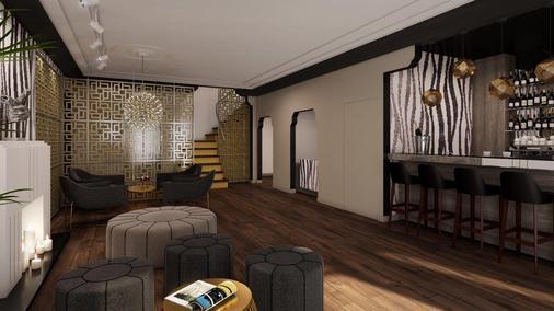 L酒店 - 迈阿密海滩 - 客厅
