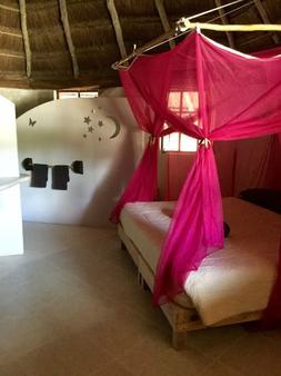 摩瑞拉环保生活别墅 - 阿库马尔 - 睡房