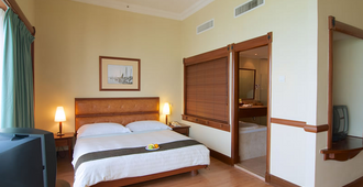 槟城诺瑟姆套房酒店 - 乔治敦 - 睡房