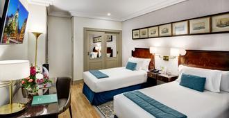 康德杜克斯考特而酒店 - 马德里 - 睡房