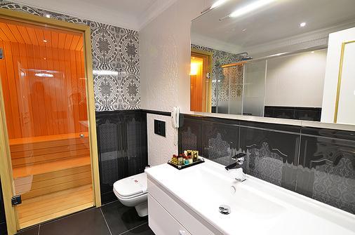 阿兹卡酒店 - 博德鲁姆 - 浴室