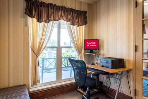 诺克斯维尔东红顶套房酒店 - 诺克斯维尔 - 商务中心