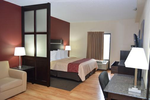查塔努加红屋顶酒店及套房 - 市中心 - 查塔努加 - 睡房